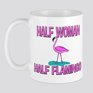 Half Woman Half Flamingo Mug